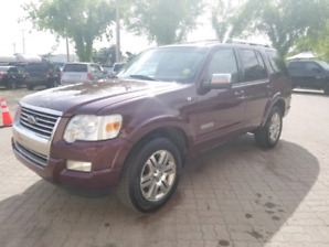 * 2008 FORD EXPLORER LIMITED 4X4, 7 PASSENGER, WARRANTY INCLUDED
