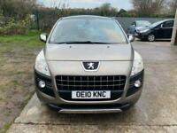 2010 Peugeot 3008 2.0 HDI EXCLUSIVE 5d 150 BHP Hatchback Diesel Manual