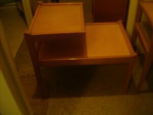 end tables and coffee  table