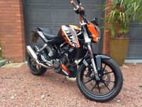 KTM DUKE 125 2013 ABS