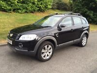 CHEVROLET CAPTIVA LTX 2.0 VCDI 7 SEATER 4X4 DIESEL**TOP SPEC**LEATHERS**
