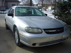 2002 Chev.Malibu LS $400.(As-Is) No Safety Has Rust.