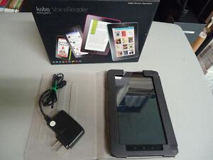 KOBO Vox eReader 7-in. 8Gb Black Model K080 with KOBO Cover West Island Greater Montréal image 6