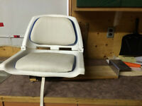 collapsable seat for canoe/boat