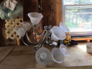 Chandelier kitchen light
