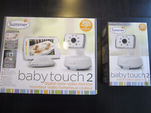Summer Baby Touch 2 Video Monitor with Second Camera