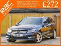 2011 Mercedes-Benz C Class C220 CDI Turbo Diesel Sport Blue Efficiency 7G-Tronic