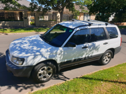 Subaru Forester X Manual White Linden Park Burnside Area Preview