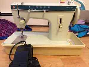 Sewing Machine + sewing accessories