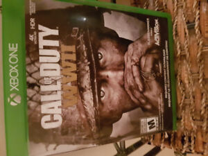 Xbox one Call Of Duty WWII world war 2