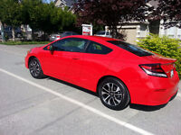 2014 Honda Coupe (2 door) USED. LEASE TAKEOVER OR BUY OUT