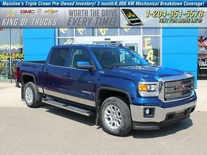 2015 GMC Sierra 1500 SLE I 4x4 I Leather I Heated Seats  - Bluet