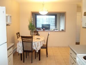 BEAUTIFUL ,5 1/2 UPPER 2-PLEX, WITH PARKING SPACE INCLUDED...