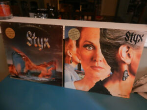 Vinyl Records/LP's Styx Limited Gold Vinyl Records Lot of 2