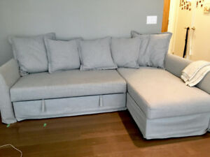 Spacious sofa bed for sale