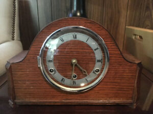 BRITISH MADE WESTMINSTER MANTEL CLOCK