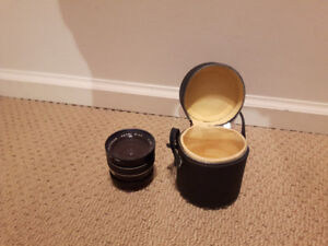 PROTONAR AUTO WIDE 1:2.8 f=28 mm 62 lens with hard leather case