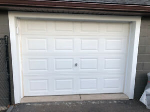 Non Insulated Garage Door White