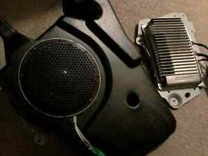Newer ford edge amp and sub