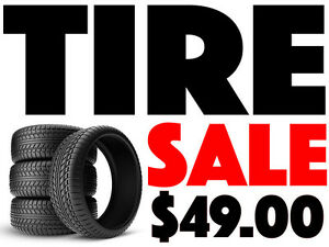 BRAND NEW WINTER & ALL SEASON TIRE SPECIAL - FREE INSTALLATION