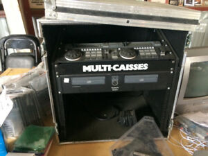 Numark CDN90  CD mixer with case in like new condition
