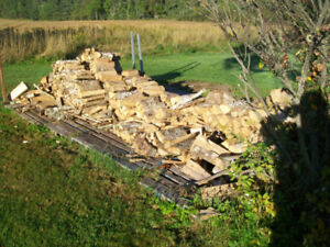 Blocked and Split Firewood for sale