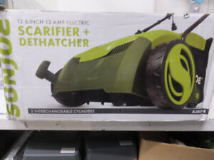 "Sun Joe AJ801E 12 Amp 13"" Electric Scarifier *"