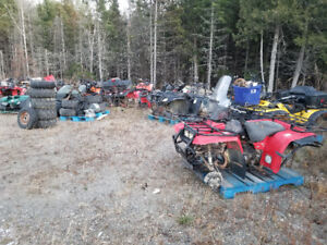 Atv/fourwheeler parts. Bikes are listed in the description