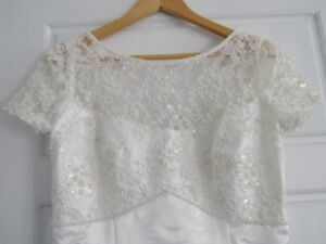 Size 10 Alfred Angelo Wedding Gown