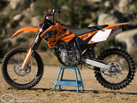 * Honda, Yamaha, KTM 250 or 450 WANTED! *
