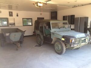 1985 ILTIS and Trailer (Both road legal)
