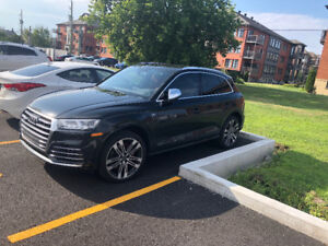 Transfert de location AUDI SQ5 2018