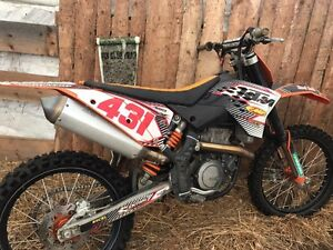 2007 KTM 450R with Recluse Clutch