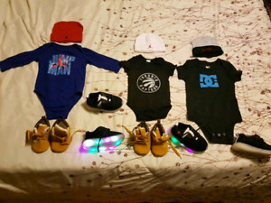 BABY HATS, ONESIES & SHOES FOR SALE