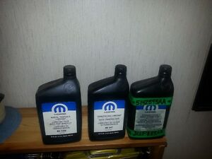MOPAR MANUAL TRANSMISSION LUBRICANT / QUADRA TRAC