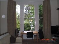 Spacious airy one bedroom flat