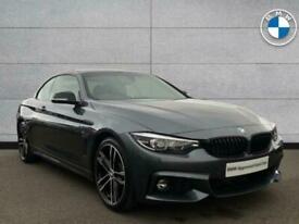 2020 BMW 4 Series 420d M Sport Convertible Convertible Diesel Automatic