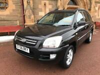 *3 MTHS WARRANTY*2006(56)KIA SPORTAGE 2.0 CRD VGT XS WITH MOT TILL DEC 2018*
