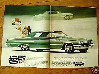 1962 Buick Electra 225 Ad  A Great New Exlusive