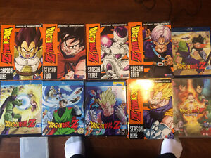 Entire Dragonball Z series on DVD and blu-ray