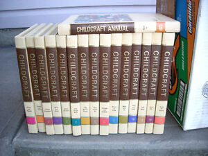 CHILDCRAFT 15 VOL