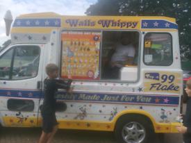 Ice cream van hire for birthday partys wedding any event. £15