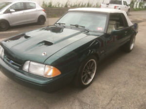 1990 FORD MUSTANG 5.0  7UP  COVERTIBLE
