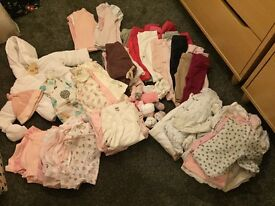 Baby Girls Clothes- 0-12months