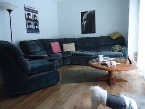 Large sectional Sofa/ A great Deal for alot of Sofa