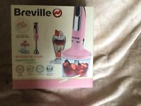 Breville Strawberry cream Hand Blender