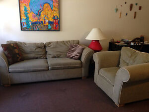 Couch and Arm Chair for SALE!