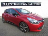 2014 Renault Clio 1.5 dCi ENERGY Dynamique S MediaNav 5dr Diesel red Manual