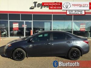 2015 Toyota Corolla CE  - Trade-in - Bluetooth - $104.27 B/W