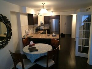 Furnished new luxury condo heated parking, by metro 1499$!